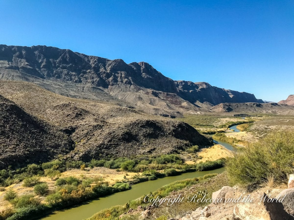Driving the River Road is one of the best and most beautiful things to do in West Texas