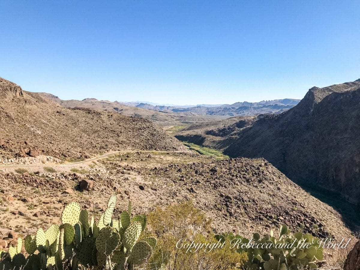 The Texas River Road is a must-see detour on a West Texas road trip. Many parts overlook the Rio Grande, which forms the border between Mexico and the USA in many places