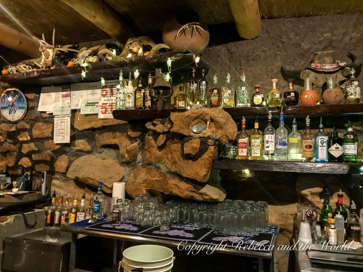 La Kiva Restaurant is one of the most popular places to eat in Terlingua