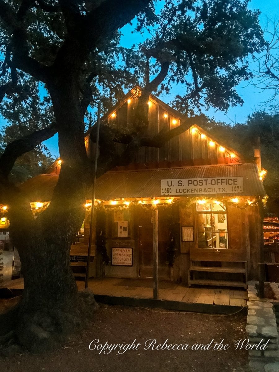 One of the best things to do in Fredericksburg, TX, is visit the small trading post of Luckenbach
