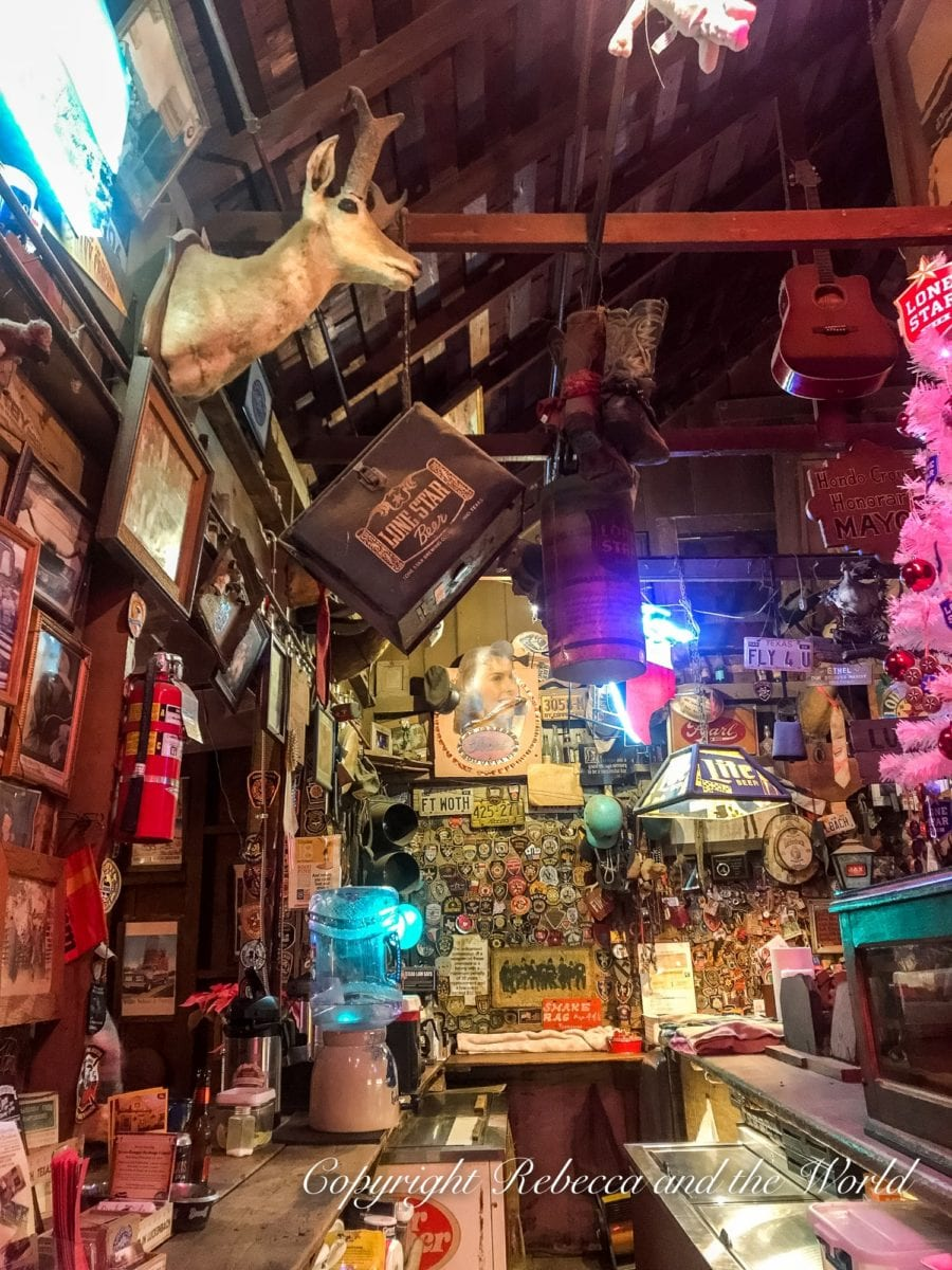 A must-do when in Fredericksburg, TX, is visit Luckenbach for a beer at the bar