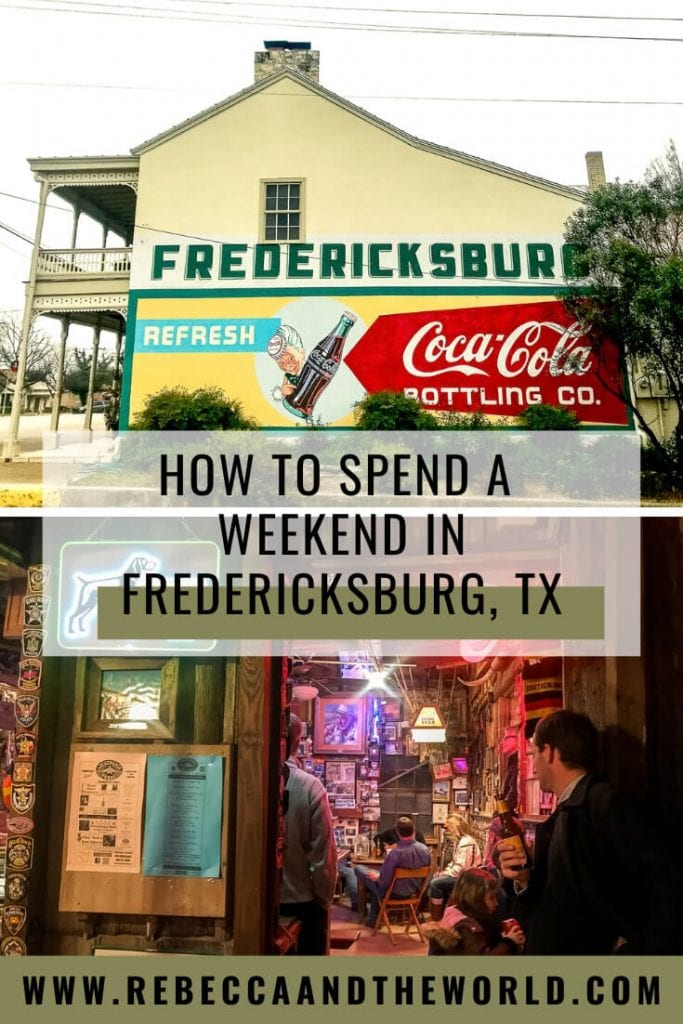 Looking for fun things to do in Fredericksburg, Texas? This charming little town in the Texas Hill Country has plenty to offer for a weekend visit.   #TexasTravel #Texas #USATravel #TexasHillCountry