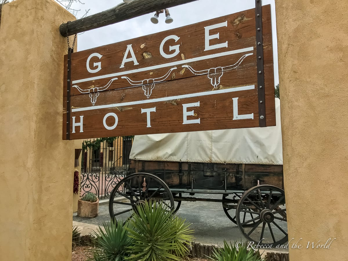 The Gage Hotel should be a stopping point on a West Texas road trip itinerary