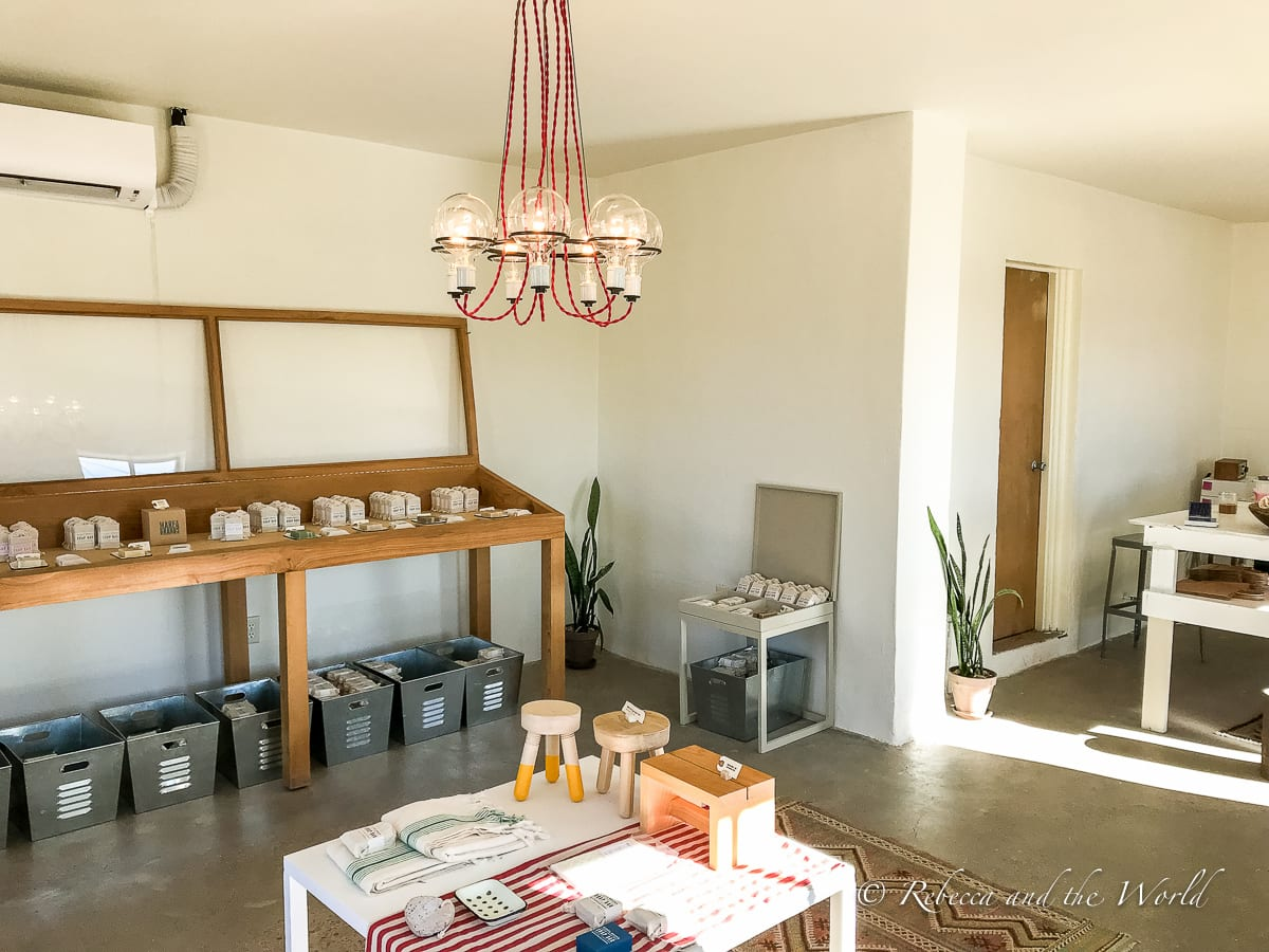 Marfa Brands is one of the gorgeous places to shop in West Texas