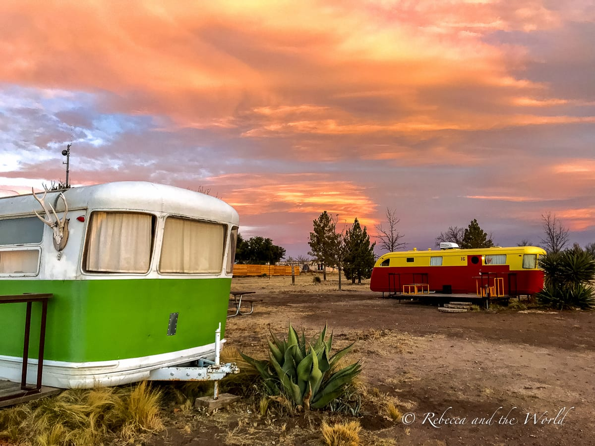 El Cosmico is one of the most glamping spots in West Texas