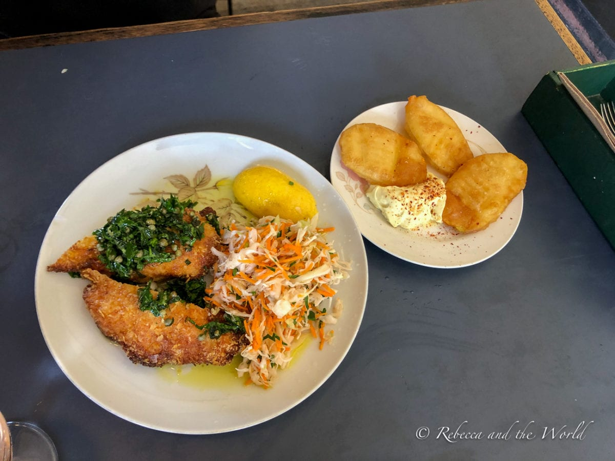 A pub meal is one of the best things to eat in Melbourne, Australia
