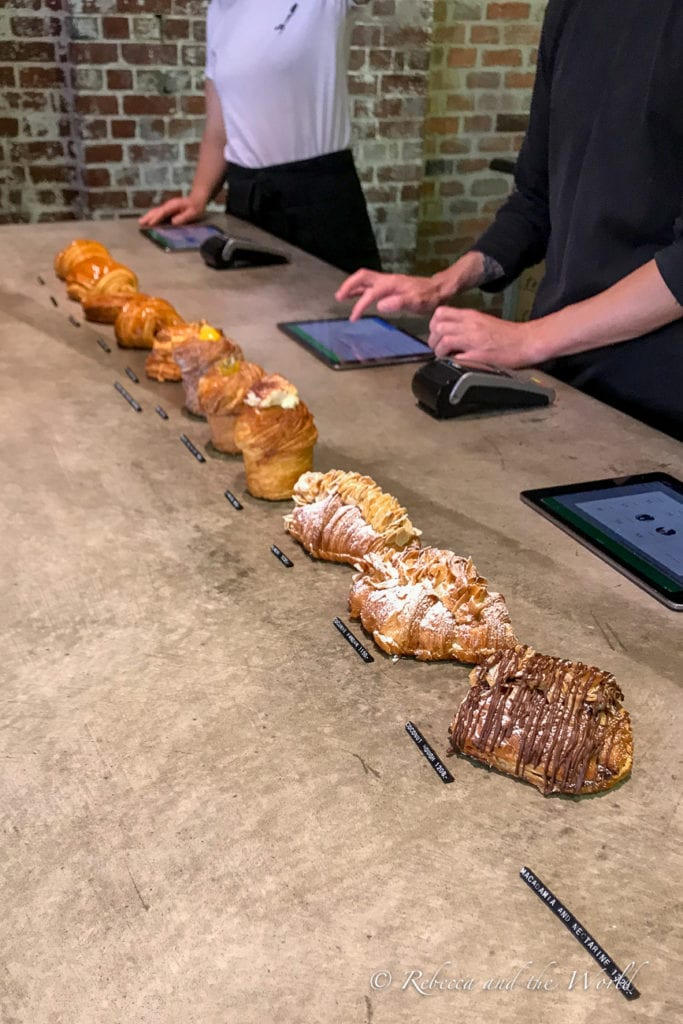 The croissants at Lune Croissanterie have been described as the best in the world