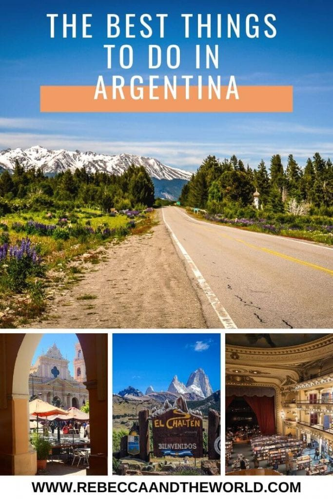 As the second largest country in South America, there are so many things to do in Argentina. Check out this list of 45+ of the best Argentina tourist attractions. From walking on a glacier, to tasting delicious wines, to experiencing Oktoberfest, there's something for everyone in Argentina.   #Argentina #southamerica #buenosaires #salta #peritomorenoglacier #wine #steak #argentinathingstodo #argentinatravel #argentinaitinerary #argentinavacation