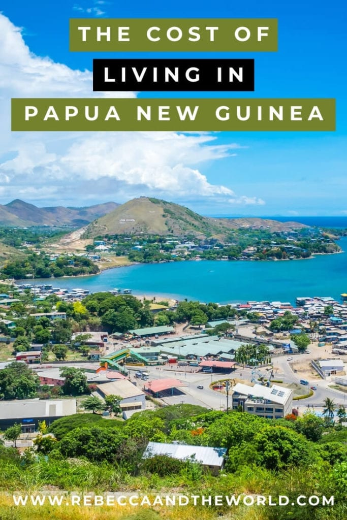 Considering a move and wondering about the cost of living in Papua New Guinea? This expat guide shares the cost of living in Port Moresby for grocery shopping, accommodation, mobile phone plans and entertainment. | Papua New Guinea | PNG | Expat Life | Expat | Expat Tips | Expat Advice | Cost of Living | Port Moresby | Live in Port Moresby | Moving to Port Moresby | Moving to Papua New Guinea | Visit Papua New Guinea | Visit Port Moresby
