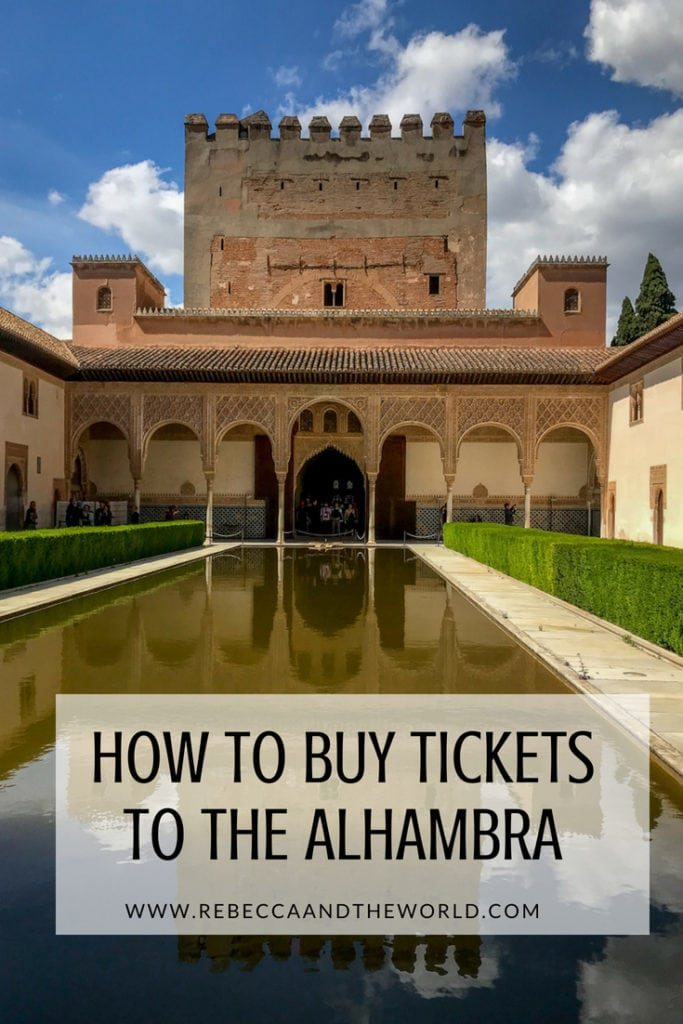 A guide to buying tickets for the Alhambra | How to buy Alhambra tickets and what to do if Alhambra tickets are sold out #spain #granada #alhambra