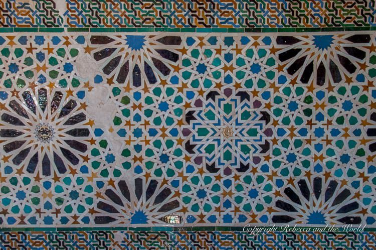 You'll take hundreds of photos on a visit to the Alhambra in Granada, Spain - the details are incredible