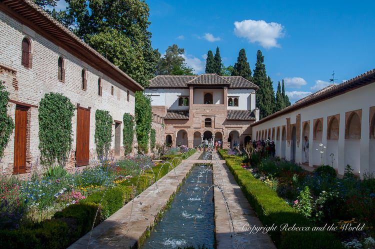 The Generalife in the Alhambra, Spain, is filled with gorgeous gardens