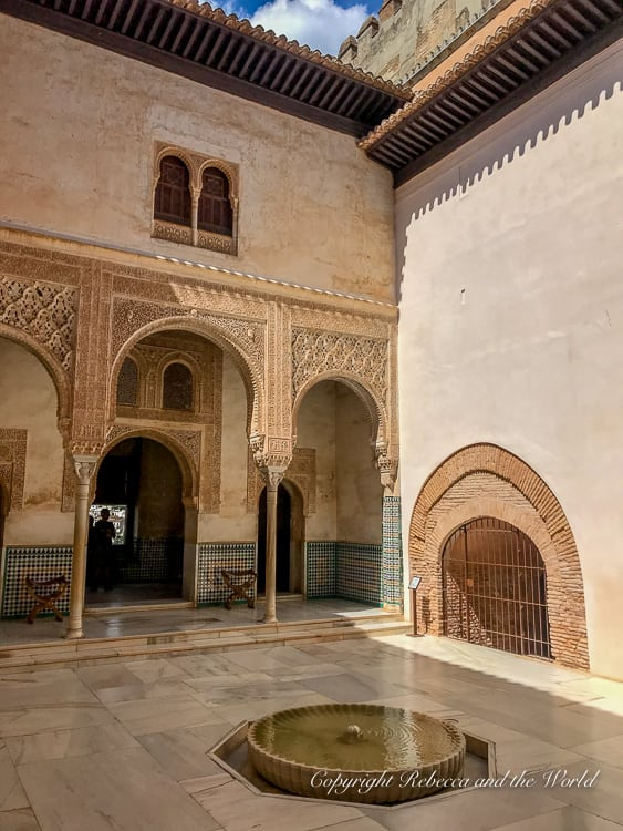 The Nasrid Palaces are a must-see when you visit the Alhambra in Granada, Spain