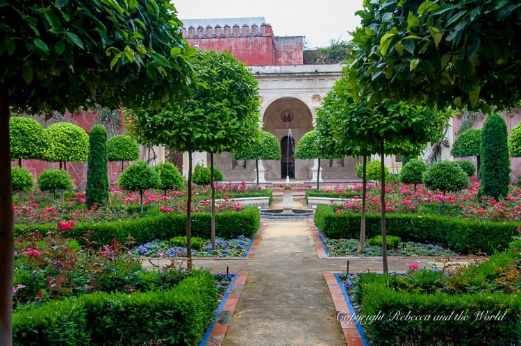 The gardens of the Casa de Pilatos in Seville, Spain, are beautiful - and it's one of the least touristy places to visit in Seville