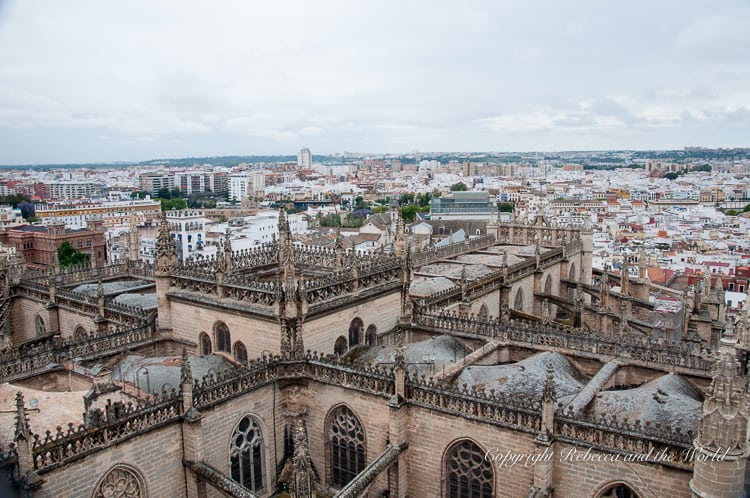 Climb La Giralda in Seville, Spain, for great views of the city
