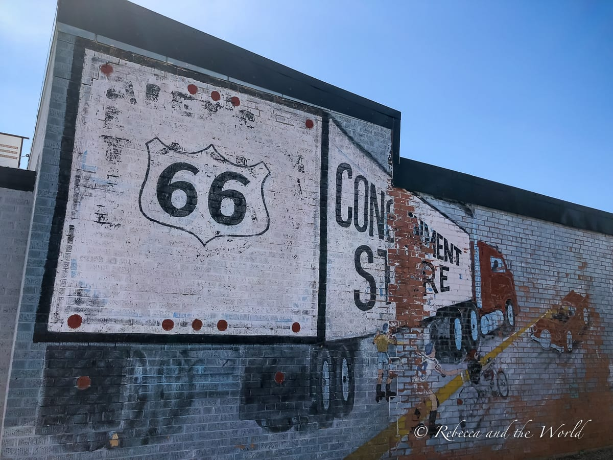 Amarillo is one of the most important towns in Texas that historic Route 66 ran through