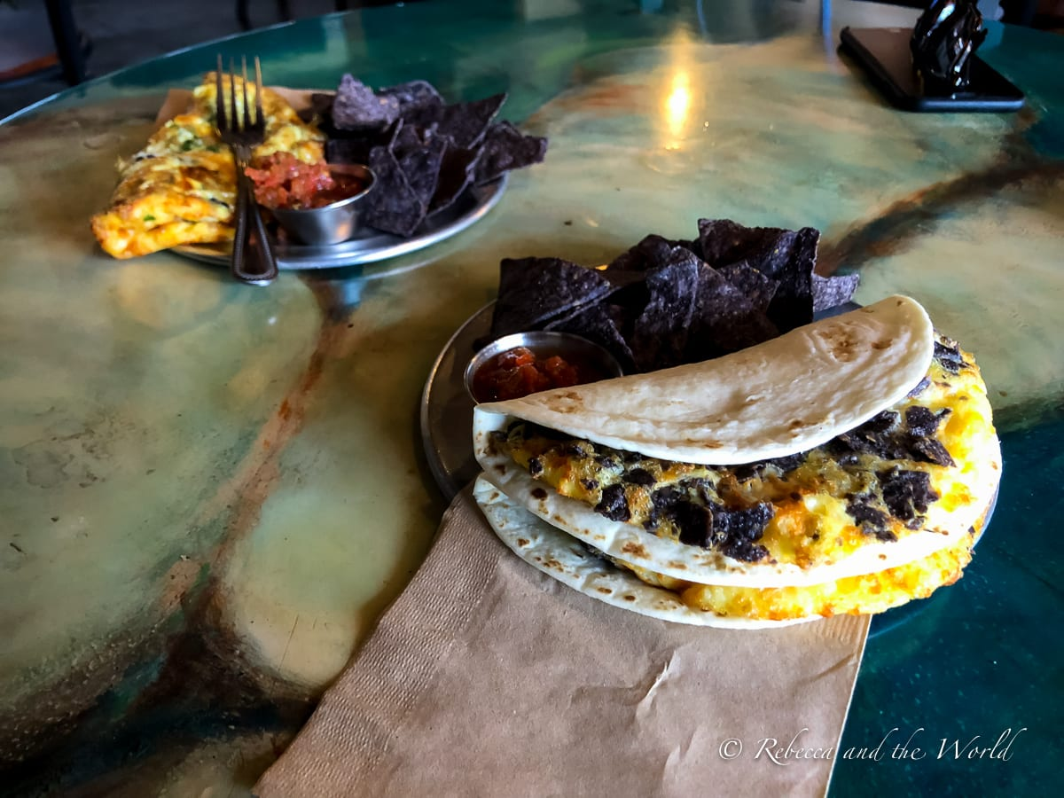 The Sunday Brunch at 806 Lounge in Amarillo, Texas, is one of the best examples of delicious Amarillo food