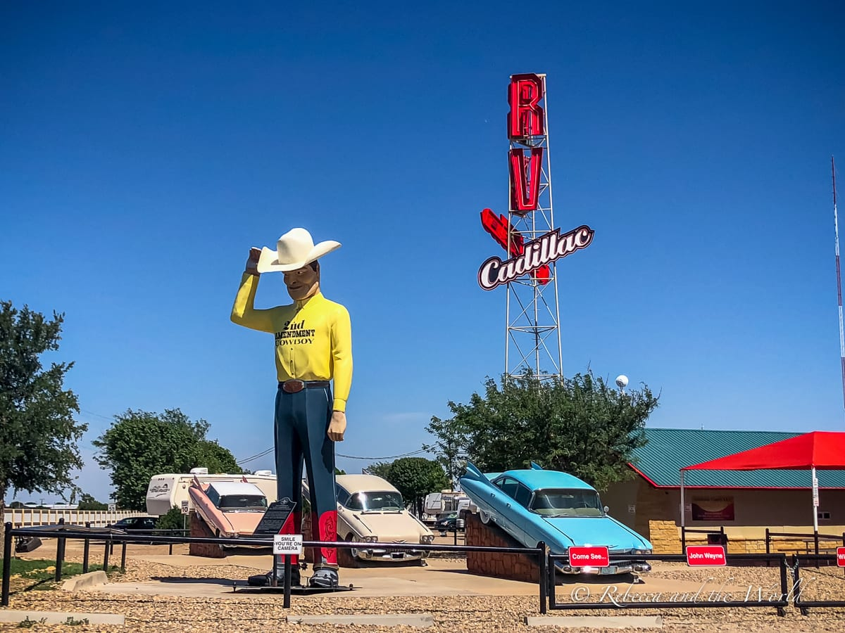 A visit to Amarillo is a great way to see a different side to Texas