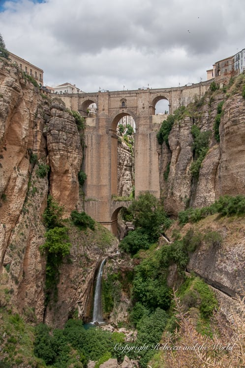 The Ronda bridge is the city's most famous landmark - and it's more than 200 years old!