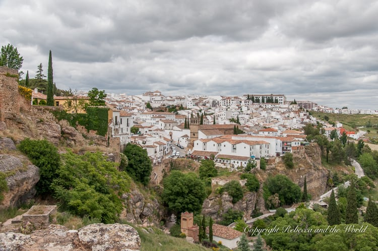 Ronda is a gorgeous town in the south of Spain