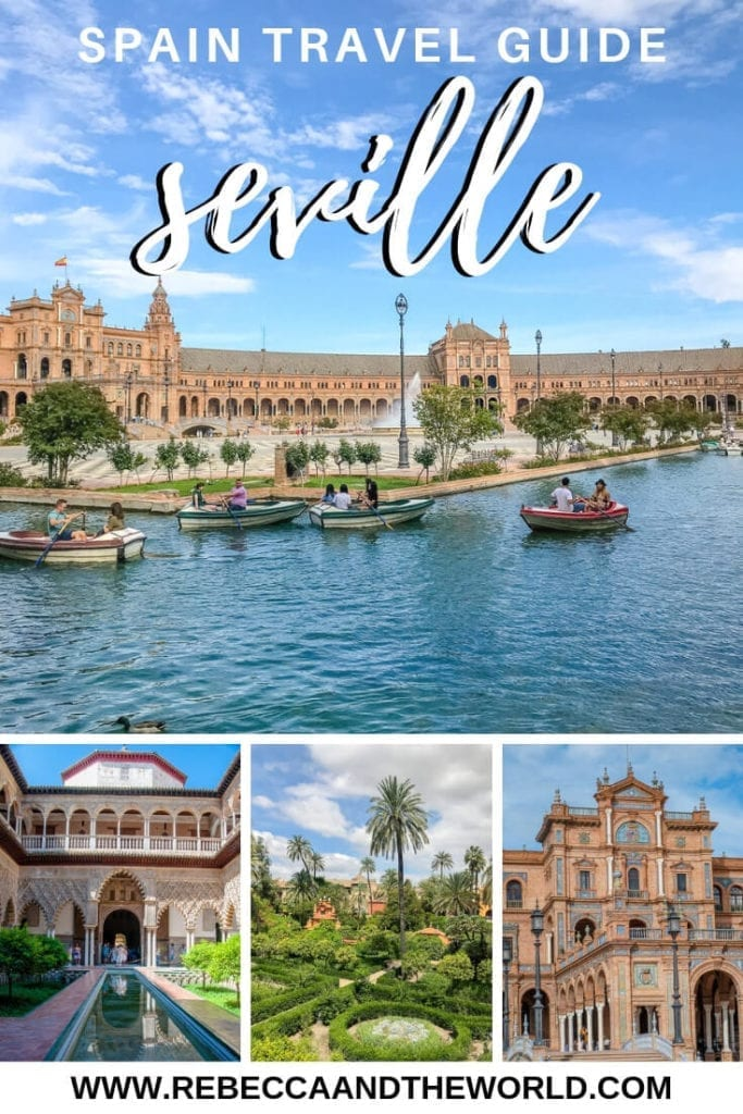 Only have a short time in Seville, Spain? You can still fit a lot into 2 days in Seville. This guide covers the top 10 things to do in Seville, including where to eat, what to see in Seville and where to sleep. #seville #spain #andalucia #2daysinseville #sevilleitinerary #sevilleguide #travel #spaintravel #andalusia