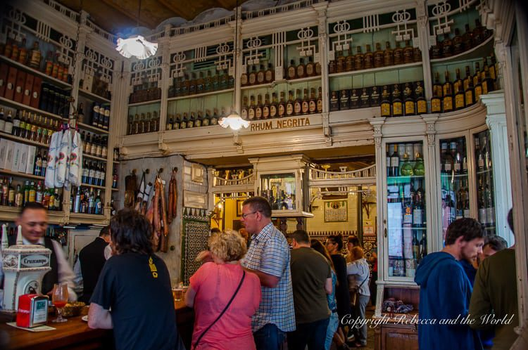 El Rinconcillo is the oldest bar in Seville, Spain