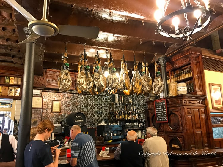 The oldest bar in Seville, Spain, El Rinconcillo is a must-visit when you're in Seville