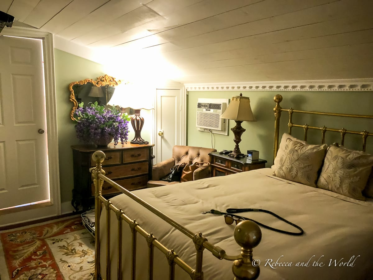 There are plenty of great places to stay in New Braunfels, including lovely B&Bs like Zink Haus