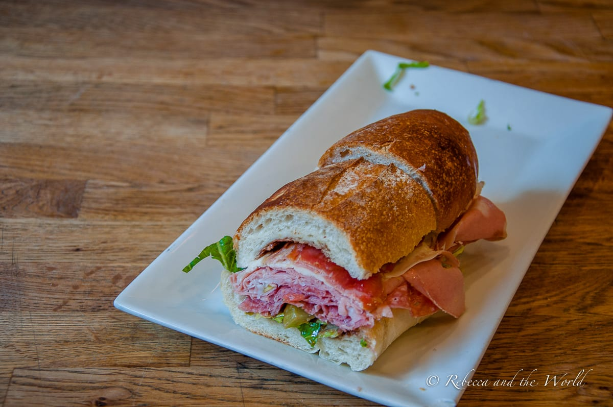 Monica's salumeria in Boston's North End is home to one of the best sandwiches I've ever eaten. Have a taste of it on this unique Boston food tour