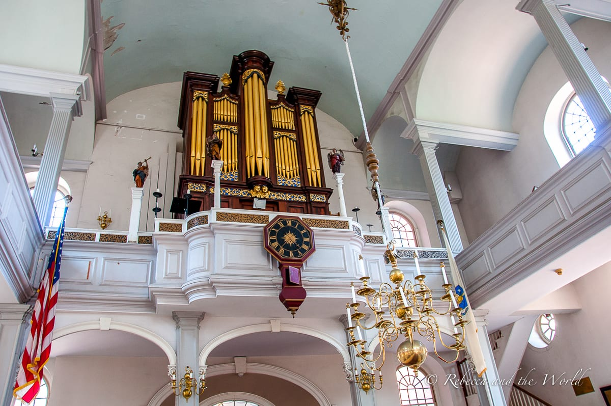 The Old North Church has played a key part in USA history