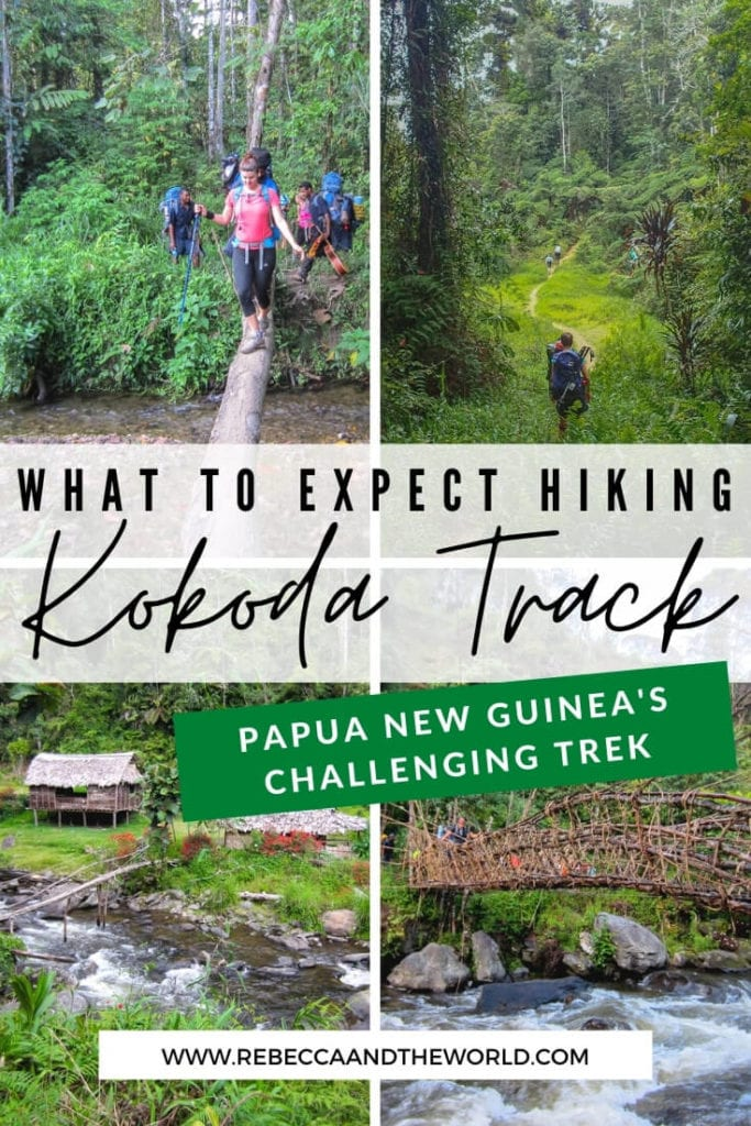 What's it like to trek Kokoda? This challenging hike in Papua New Guinea is worth the effort. This post explains day by day what to expect when hiking the challenging Kokoda Track in Papua New Guinea.   Kokoda Track   Kokoda Trail   Trek Kokoda   Hiking   Papua New Guinea   PNG   Visit Papua New Guinea   PNG Travel   PNG Tourism   Papua New Guinea Travel   Papua New Guinea Travel Guide   Papua New Guinea Travel Destinations   #papuanewguinea