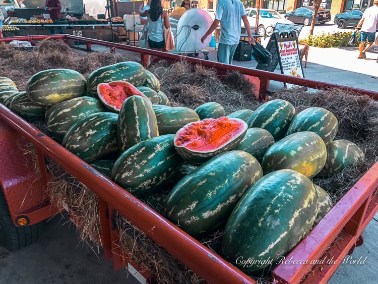 On your weekend in Dallas, stop by the Dallas Farmers Market for great produce and local food