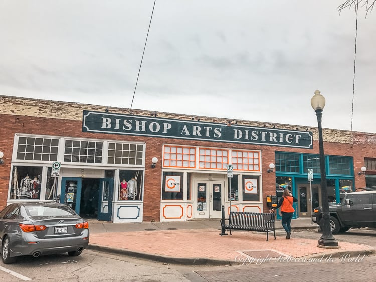 Spend an afternoon in the Bishop Arts District while you're visiting Dallas