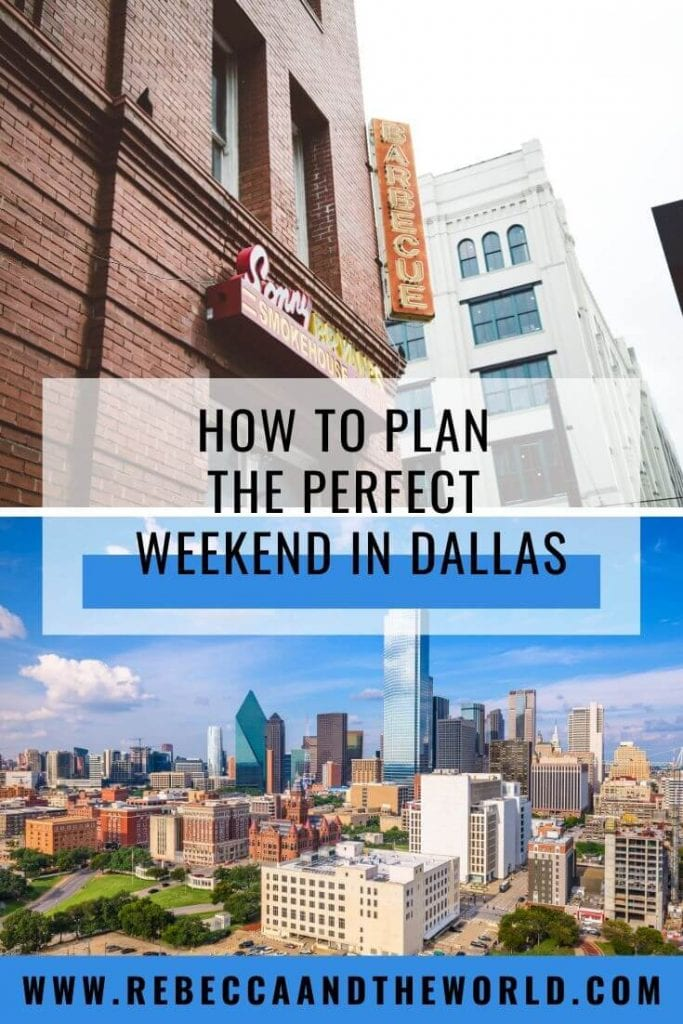 The US's 9th largest city has a lot to keep you busy. From eating and drinking, to cultural and historical pursuits, to wandering cute neighbourhoods, here's what to do on a weekend trip to Dallas, Texas. | #dallas #dallastx #texas #usatravel #dallasweekendgetaway #dallasweekendtrip #thingstodoindallas #weekendindallas #dallastravelguide #travel