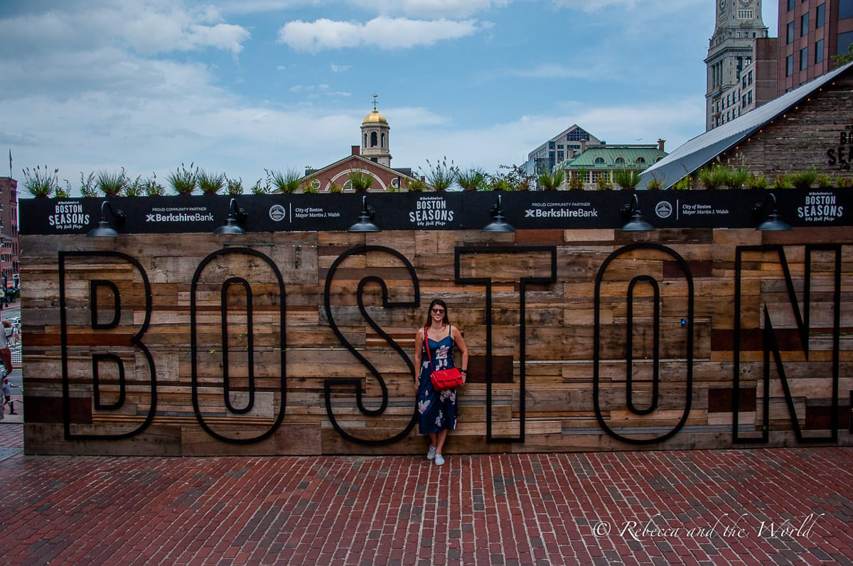 There are plenty more things to do in Boston besides eating!