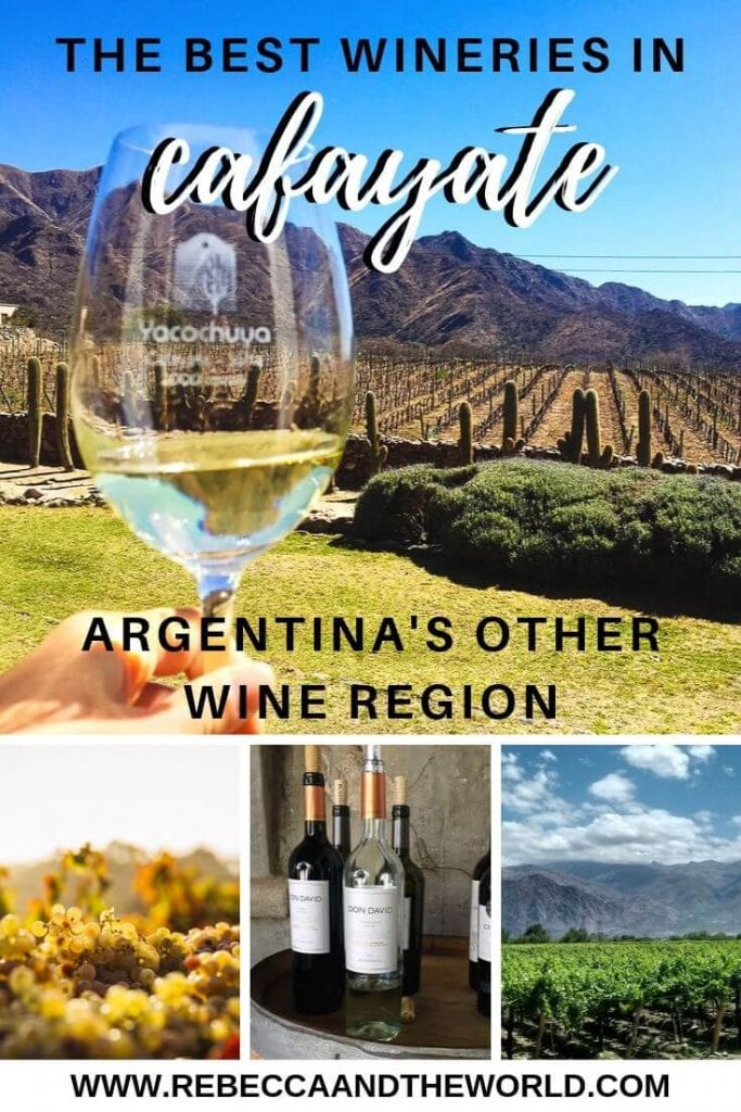 One of Argentina's best-kept secrets has to be the Cafayate wine region in Salta, north Argentina. Home of the delicious Torrontes wine, you can spend a few days exploring the best wineries in Cafayate by bike or car. | #argentina #cafayate #salta #northargentina #wine #argentinewine #argentinawineries #torrontes