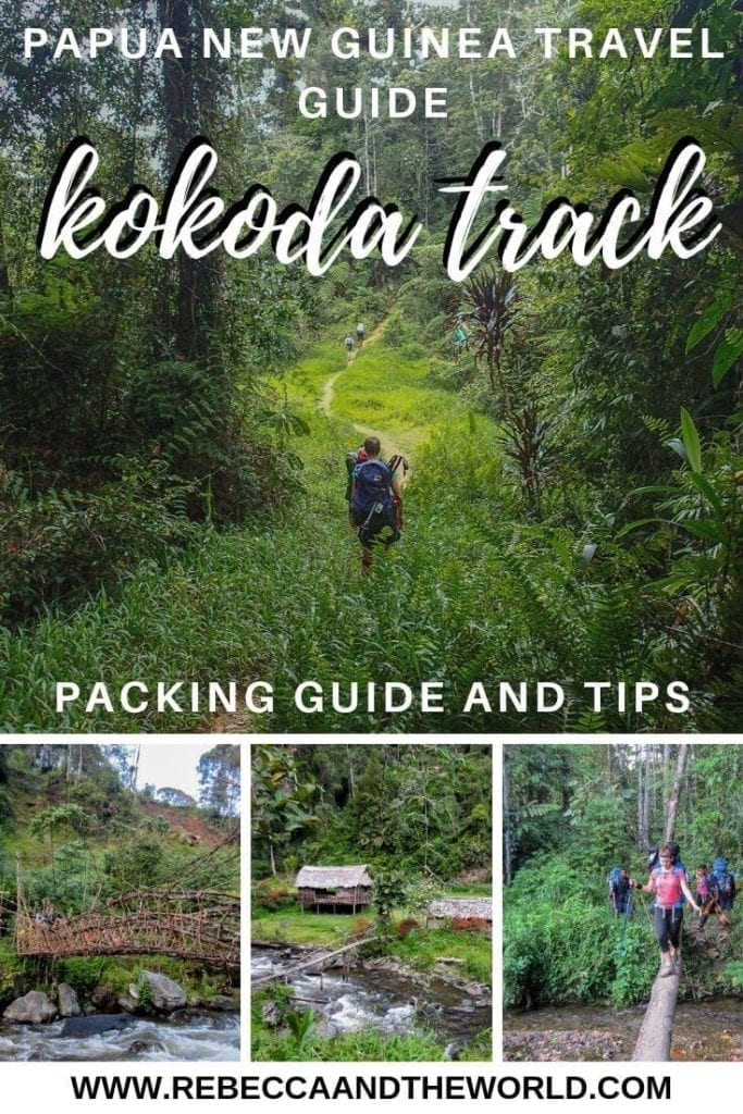 Thinking about hiking the Kokoda Track? Read on for your guide to the best Kokoda packing list, how to train and what to expect on the hike - from someone who's done it! | #Kokoda #KokodaTrack #KokodaTrail #PapuaNewGuinea #PNG