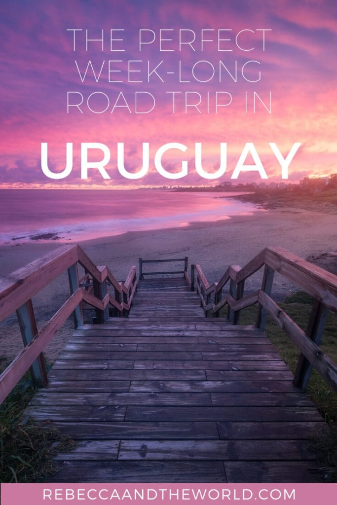 Plan an awesome 1-week Uruguay itinerary! This Uruguay road trip along the coast is the best way to experience this underrated South American country. | Uruguay | Visit Uruguay | Uruguay Road Trip | Uruguay Itinerary | Uruguay Travel Itinerary | Uruguay Beaches | Places to Visit in Uruguay | Uruguay Tourism | Uruguay Tourist Attractions | Uruguay Travel | 1 Week in Uruguay | South America Travel | Uruguay Coast | Uruguay Coastal Road Trip | Montevideo | Punta del Este | Punta del Diablo