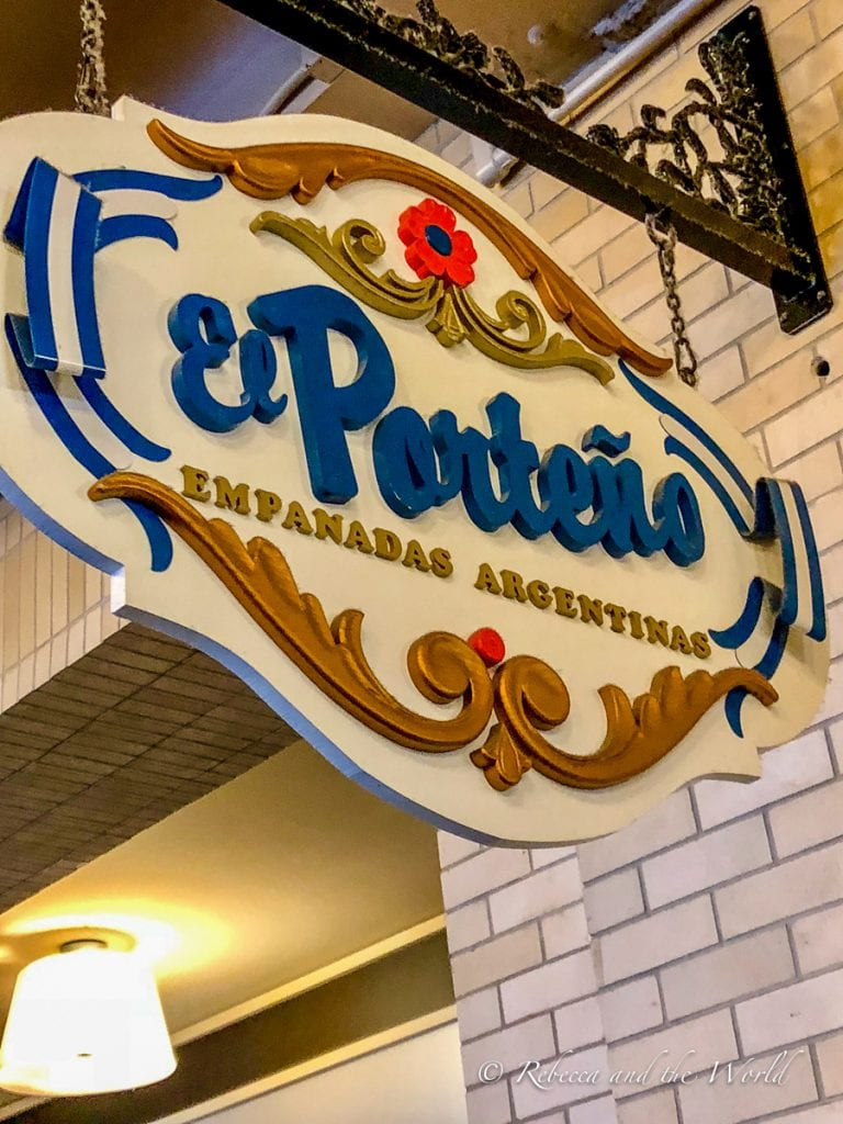 Stop by El Porteno in San Francisco for delicious empanadas