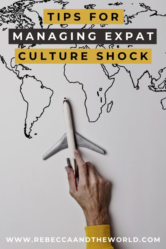 Expat life is exciting - but it also comes with challenges, including culture shock. Find out the 4 stages of expat culture shock, and tips to help you deal with expat culture shock when moving abroad. | #expat #expatlife #expattips #cultureshock #livingabroad #moveabroad #moveoverseas
