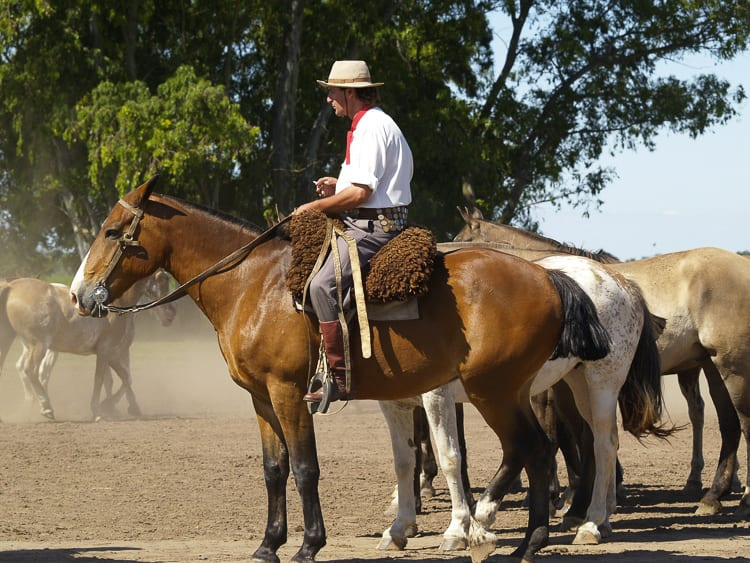 Just a short drive from Buenos Aires, San Antonio de Areco is a lovely spot for a honeymoon in Argentina. Gauchos, rustic ranches and strolls await.