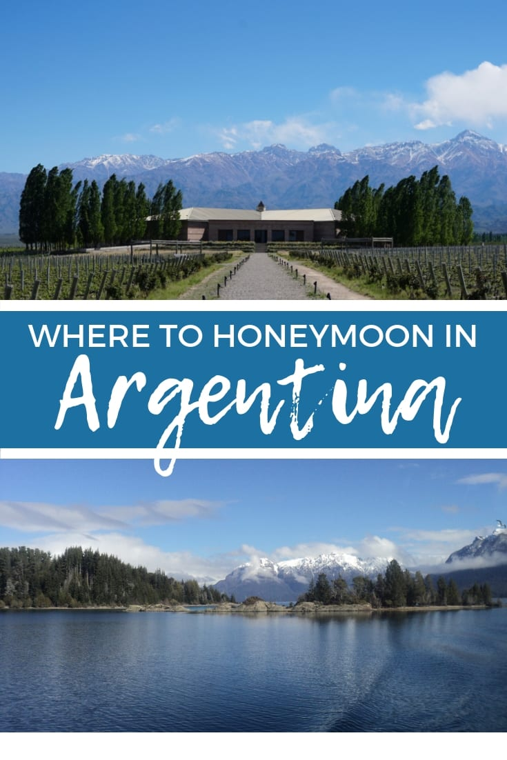 Planning a honeymoon in Argentina? Here's a guide to the most romantic places to visit in Argentina, including the best hotels for your honeymoon. | #honeymoon #honeymoonideas #argentina #southamerica #buenosaires #iguazu #gaucho #bariloche #patagonia #northargentina #salta #elchalten #elcalafate #mendoza #esterosdelibera