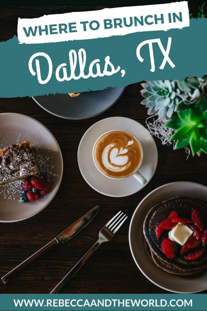 Visiting Dallas and looking for the best brunch? Dallasites know how to brunch HARD. Read on for a guide to the best brunch in Dallas - and what to order where. | #dallas #dallastx #brunch #foodie #travel #travelguide #texas #usa #unitedstates #usatravel