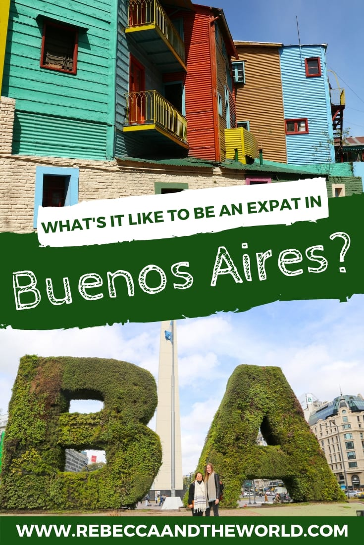 Meet Erin, a Texan living in Buenos Aires, Argentina. In this edition of Expat Tales, Erin shares her experiences, including what life is like as an expat in Argentina. If you're thinking about moving abroad, read on for her interview! | #expat #expatlife #expatadvice #expatliving #usexpat #buenosaires #argentina