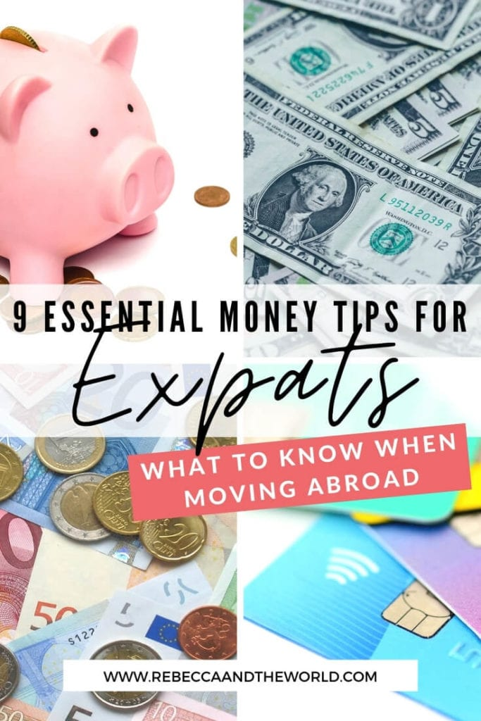 Unsure how to manage your expat finances? With 8 years' expat experience, here are my tips for managing your money abroad as an expat! | #expatfinances #expatlife #expattips #moneytips #financetips