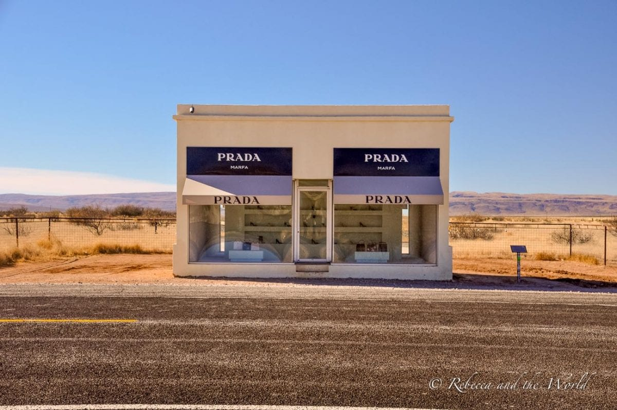 One of the quirkiest places to visit in Texas is Marfa