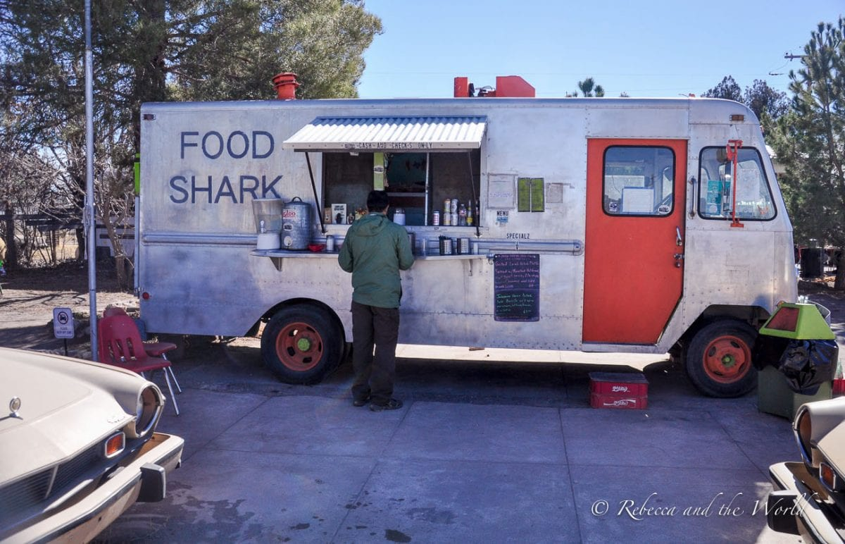 There are plenty of great restaurants in Marfa, including food trucks
