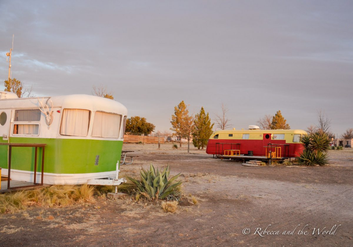 El Cosmico is one of the best places to stay in Marfa, Texas