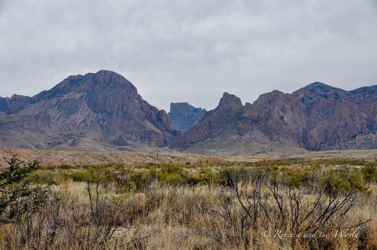 Big Bend National Park is one of the most beautiful places in Texas