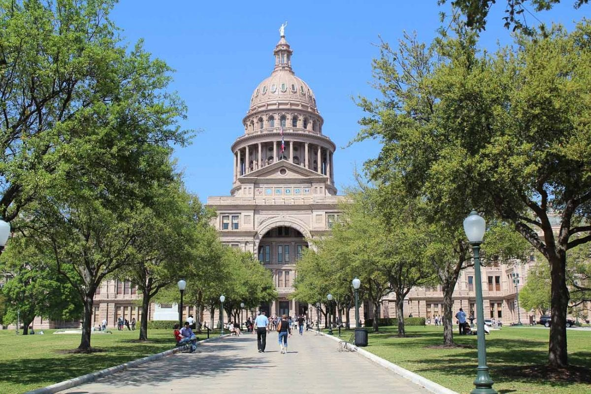 Austin's Capitol building is actually taller than the capitol in Washington D.C.